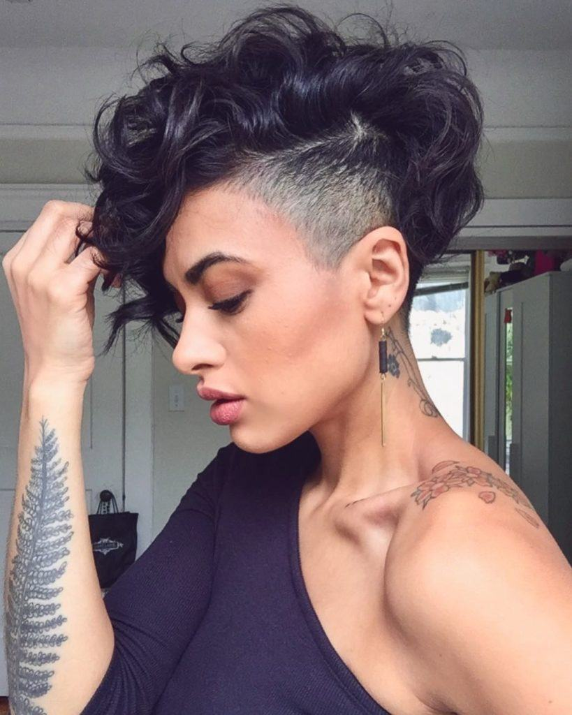 one sided shaved hairstyles 7
