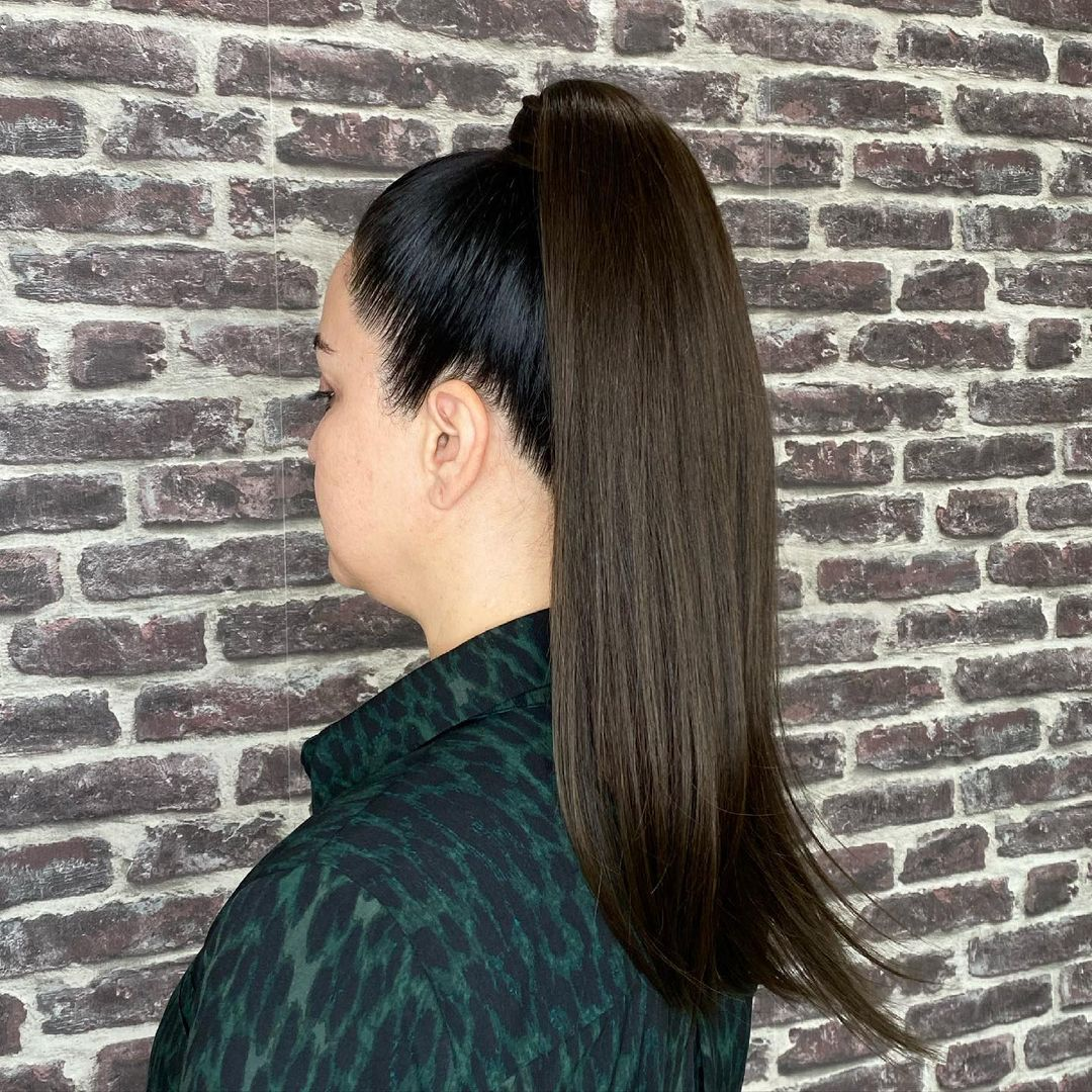 ponytail hairstyles for black hair 10