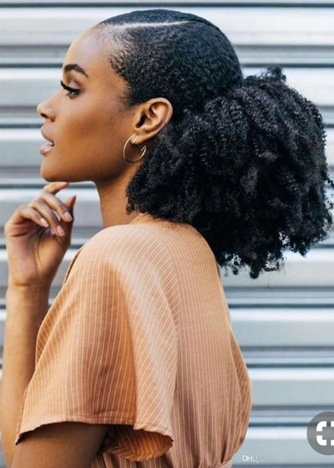 ponytail hairstyles for black hair 19