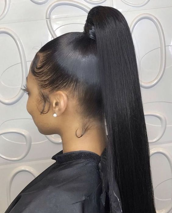 ponytail hairstyles for black hair 26