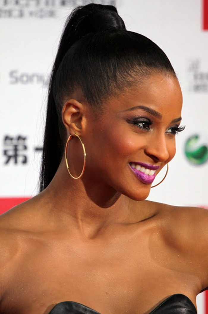 ponytail hairstyles for black hair 6