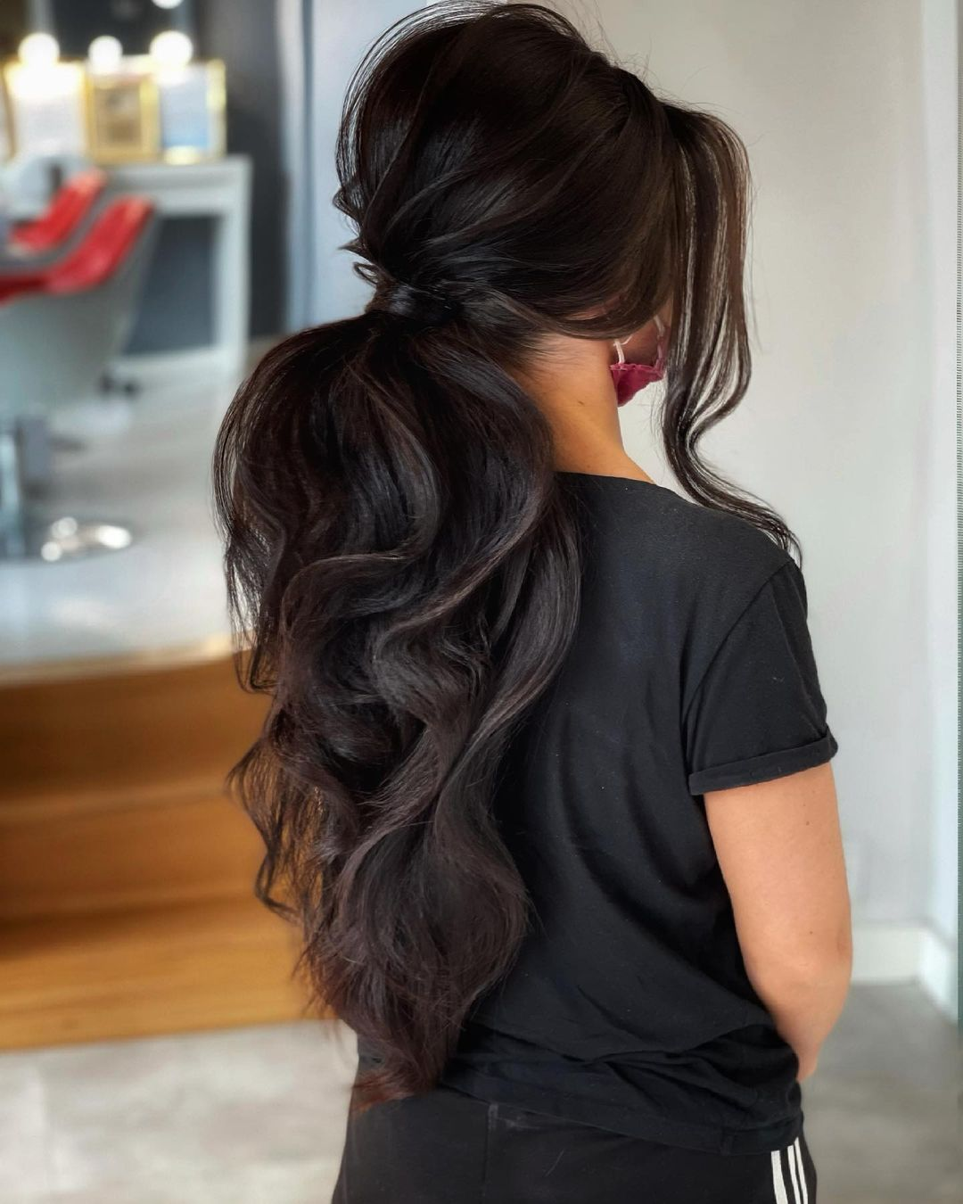 ponytail hairstyles for black hair 8