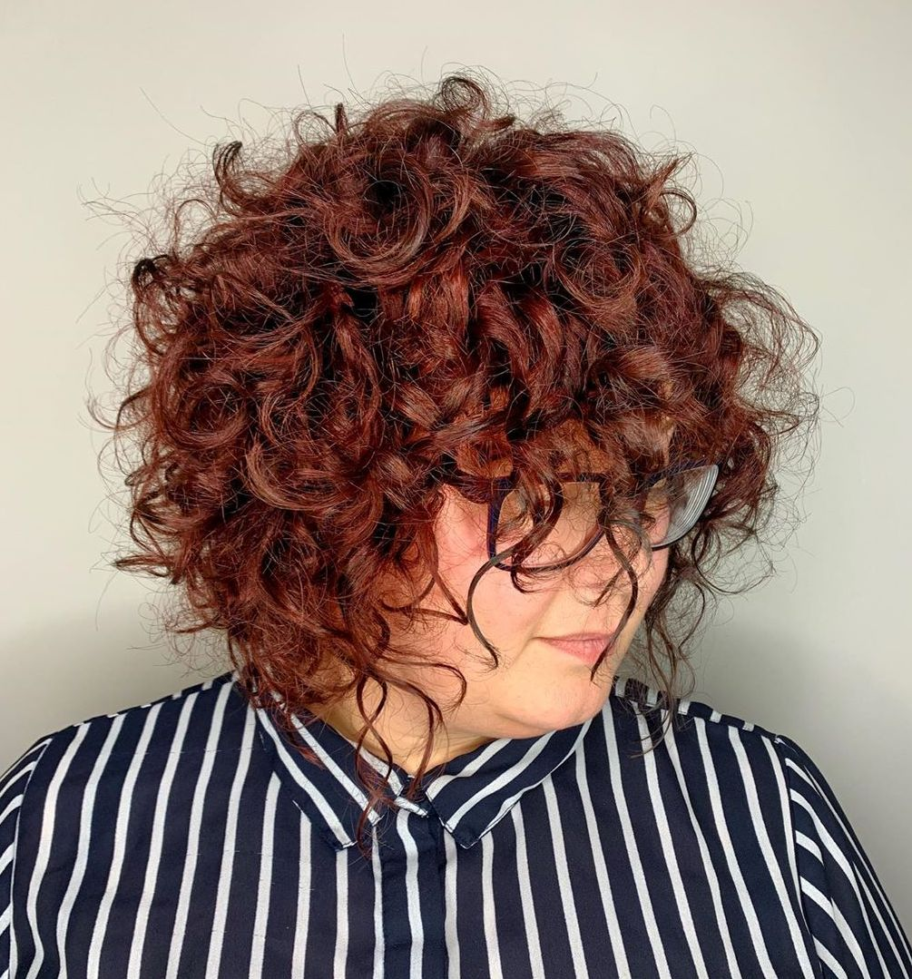 short hairstyles for plus size women 18