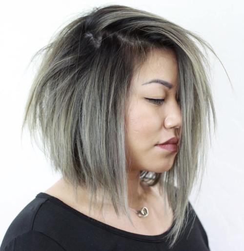 short hairstyles for plus size women 20