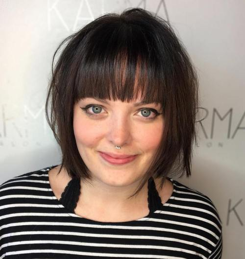 short hairstyles for plus size women 3