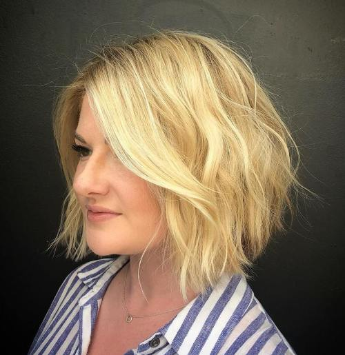 trending hairstyles for chubby faces 21