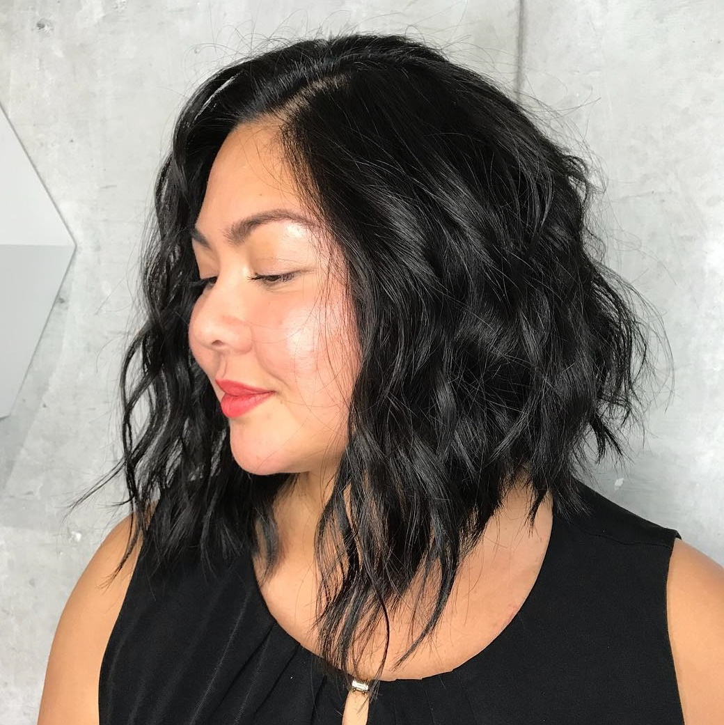 trending hairstyles for chubby faces 25