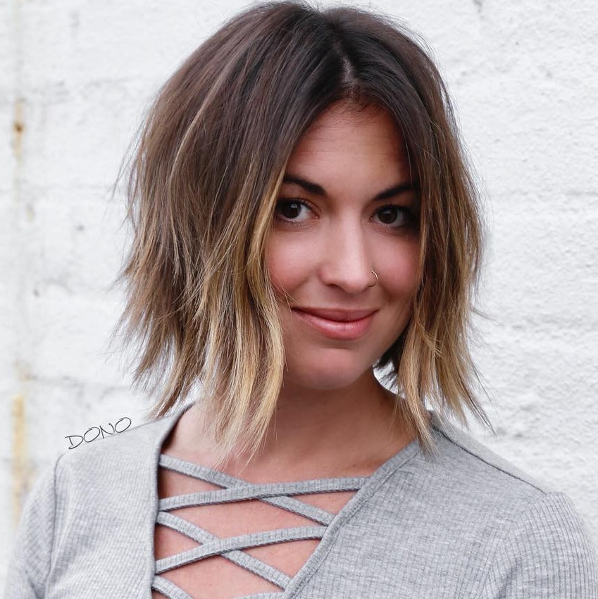 trending hairstyles for chubby faces 26