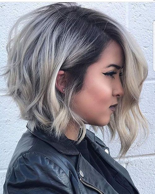 trending hairstyles for chubby faces 7