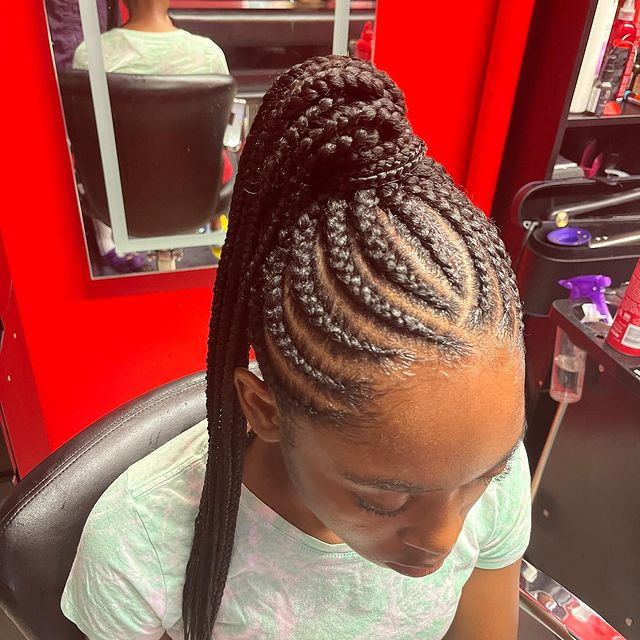 weave hairstyles for teenagers 17