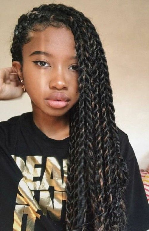 weave hairstyles for teenagers 23