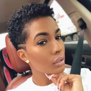 what are the best short natural haircuts for black females 16