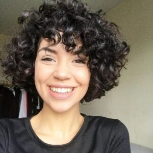 what is the best haircut for short curly hair 13