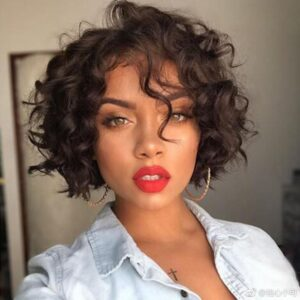 what is the best haircut for short curly hair 14